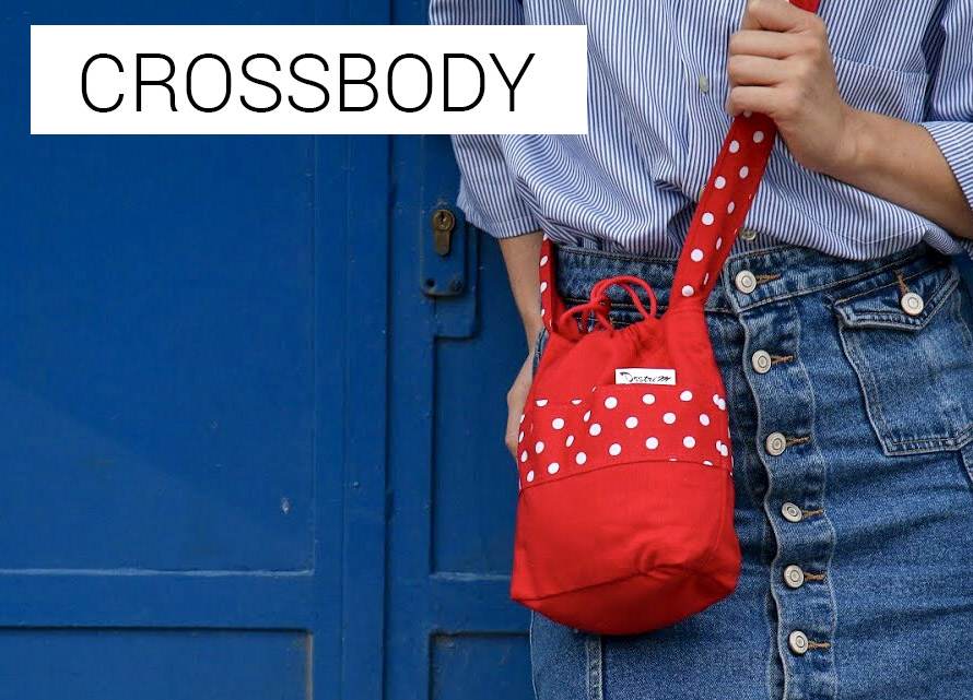 handmade móda dostrim crossbody kabelky cez pleco