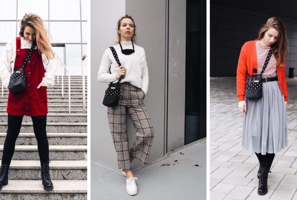 mirka zajacová oblieka dostrimky tri krat inak. handmade moda, obliekanie stylovanie. kombinovanie dostrimky